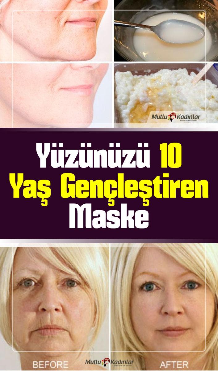 Yüzünüzde güzelliğinizi gizleyen ve olduğunuzdan daha yaşlı gösteren lekeler, sivilceler ve yara izleri mi var? Yazımızda yer alan yüz maskesi tarifi ile yüzünüz 10 yaş gençleşecek! #cilt #yüz #maske #güzellik #kadın #bakım