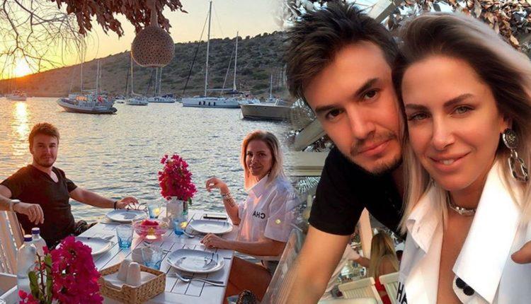 Mustafa Ceceli ve Selin İmer çifti tatile çıktı