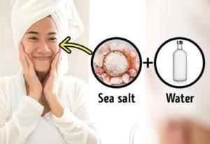 Deniz Tuzu Tedavisi