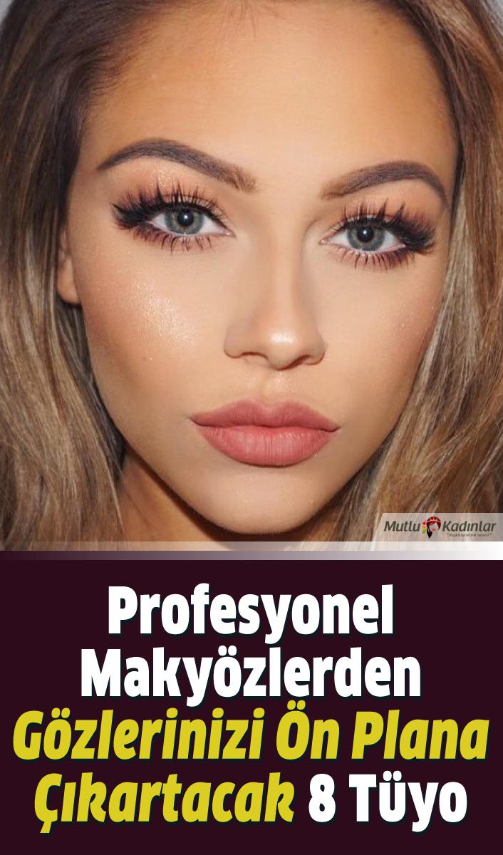 Profesyonel makyözlerden gözlerinizi ön plana çıkartacak 8 tüyo