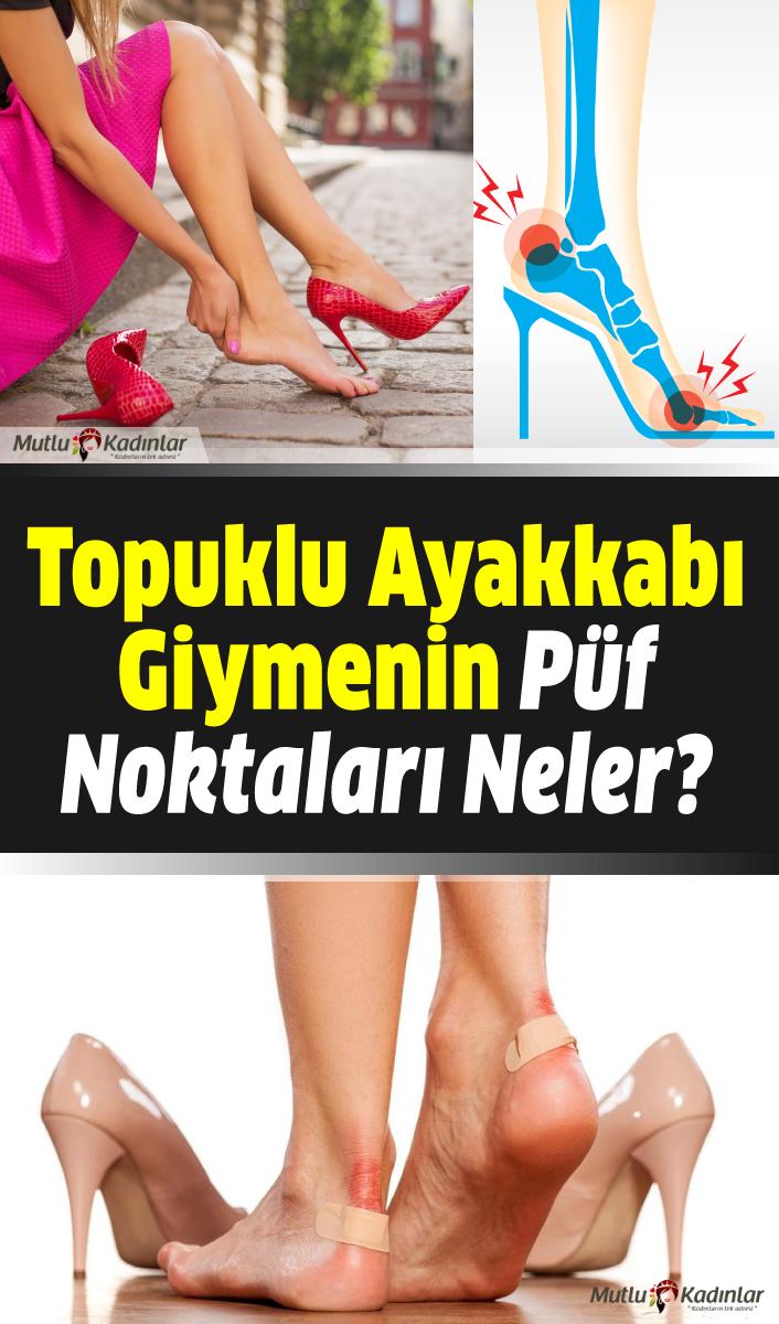 Topuklu ayakkabı giymenin püf noktaları